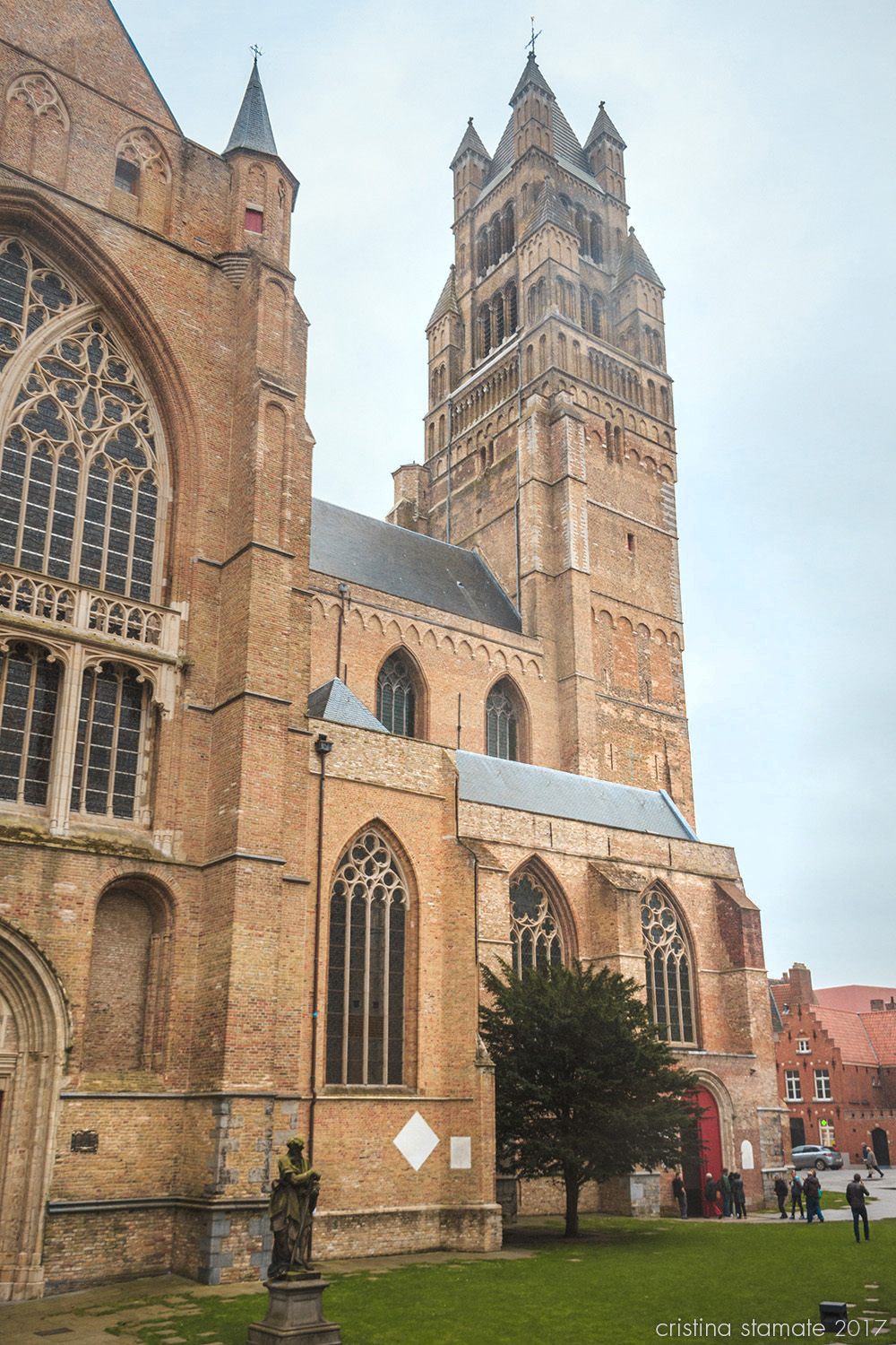 saint salvator cathedral in bruge